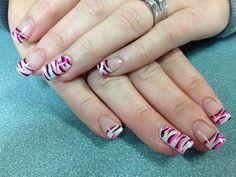 Tobey's nails. Gel nail art.