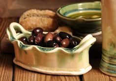 Olives in Lucia Pottery