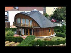 DrehHaus RDH1 1997 durch den Architekten und Zimmermeister Heinrich Rinn erbautes erstes drehbares Haus, in dem er seit dem wohnt.