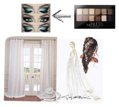 """Weddin plan"" by mya-zari ❤ liked on Polyvore featuring beauty, Maybelline, Allurez and Blu Bijoux"