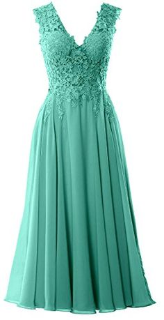 Shop a great selection of MACloth Women V Neck Midi Wedding Party Gown Tea Length Lace Mother Bride Dress. Find new offer and Similar products for MACloth Women V Neck Midi Wedding Party Gown Tea Length Lace Mother Bride Dress. Mob Dresses, Dressy Dresses, Elegant Dresses, Homecoming Dresses, Short Dresses, Bridesmaid Dresses, Bride Dresses, Prom Dress, Mother Of Groom Dresses