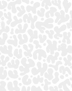 Funky Shapes, Light Gray - Sample