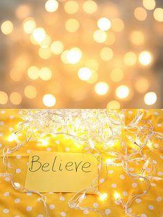 Believe in yourself .....always.<3