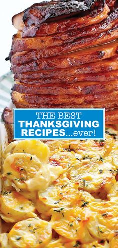 These Thanksgiving recipes are the best ever! These tasty recipe ideas will make your Thanksgiving meal. From green bean casserole to mashed potatoes and cranberry sauce, you will find the best Thanksgiving side dishes here. If you are looking to add some Green Bean Casserole, Sweet Potato Casserole, Best Thanksgiving Side Dishes, Happy Thanksgiving, Thanksgiving Turkey, Thanksgiving Recipes Crockpot, Thanksgiving Casserole, Thanksgiving Decorations, Scalloped Potato Recipes