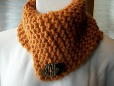 easy to knit cowl