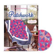 Livro + DVD Patchwork com Patrícia Washington | Vitrine do Artesanato - VitrineDoArtesanato