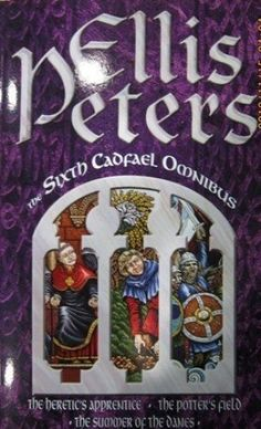 The Sixth Cadfael Omnibus: The Heretic's Apprentice, the Potter's Field, the Summer of the Danes by Ellis Peters, http://www.amazon.com/dp/0751515892/ref=cm_sw_r_pi_dp_KoDUrb19Q4GC6