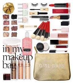 """makeup bag"" by mildredsunrise on Polyvore featuring beauty, Secret Service Beauty, Max Factor, Puma, Chanel, Pat McGrath, Illamasqua, Yves Saint Laurent, Burberry and Nails Inc."