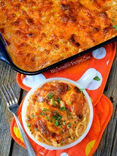 Cheesy Chicken Spaghetti!