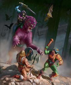 Watch out! Skeletor actually looks pretty Bad~Ass here. Good luck Prince Erik!
