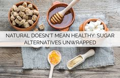 Trying to understand the world of sugar can make your head spin. While you know that white sugar and corn syrup are inherently bad for you, what about all Sugar Alternatives, Natural Sugar, Corn Syrup, Spin, Sweets, Make It Yourself, Breakfast, Healthy, Food