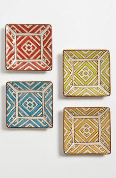 Vagabond Vintage 'Moroccan' Appetizer Plates (Set of 4)