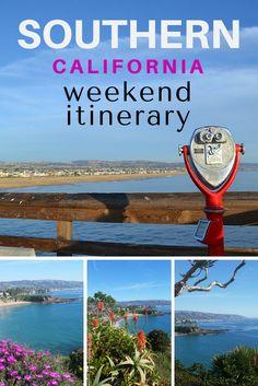 Great long weekend itinerary in SoCal: Santa Monica, Hollywood, Laguna Beach, etc.