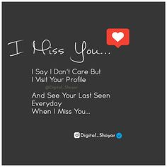 People Quotes, True Quotes, Funny Quotes, First Love Quotes, Quotes To Live By, When I Miss You, Broken Heart Quotes, Teenager Quotes, Hurt Feelings