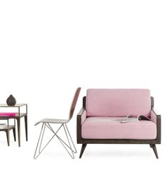 Pink Divine chair and putty lacque Starburst Chair