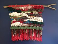 A custom weaving to celebrate the Gombey dancers of Bermuda!