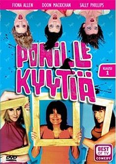 Ponille kyytiä 1.kausi dvd 4,99€ Varmaan paras puhtaasti woman-power-sketsisarja. Gotta get them all. #1