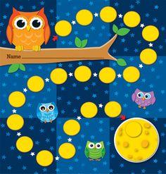 Owls Mini Incentive Charts