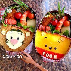 Pooh Bento