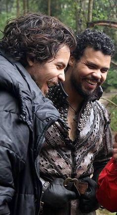 This is such a cute photo! The Musketeers