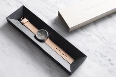 Crowdfunding : 4th Dimension Watch montre en béton par 22 Design Studio  #design #montre #watch #fashion #béton #concrete