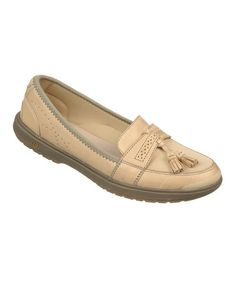 Love this Moonstone Leather Allie Loafer by BZees on #zulily! #zulilyfinds