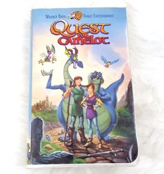 Quest For Camelot VHS, 1998, Warner Brothers Family Entertainment Clam Shell