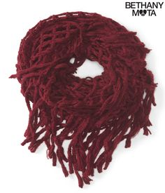 Fringed Fisherman Infinity Scarf from Aeropostale. I NEED THIS SCARF RIGHT NOW