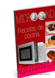 Recetas para microondas por RecetasNet Dado, Microwave, Make It Simple, Kitchen Appliances, Books, How To Make, Diet Ideas, Recipe Books, Fast Recipes