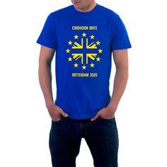 European Union EU Stars Flag Brexit Remain Royal Blue Gift T-Shirt up to 5XL