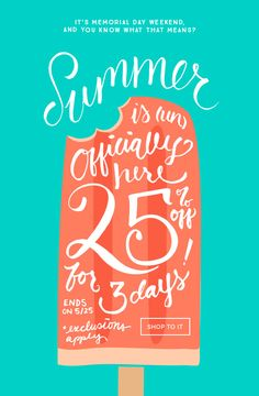 Brit + Co Summer is officially here