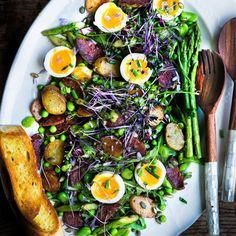 Spring Greens -- A Salad to Celebrate the Season