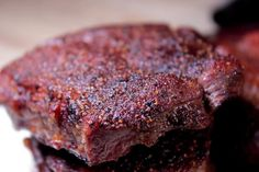 Smoked Flat Iron Steaks on the Big Green Egg