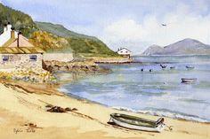 Quiet Beach at Porth Dinllaen.