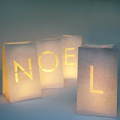 Noel Paper Lanterns by The Letteroom, the perfect gift for Explore more unique gifts in our curated marketplace.