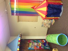 VBS 2013: Colossal Coaster World. My preschool/kindergarten classroom.