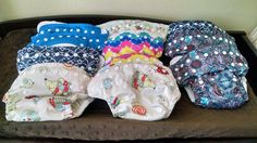 11 OS Cloth Diapers & Inserts! Great Value! | Cloth Diaper Trader