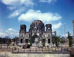 Berlin in Summer of 1945, after Bombing in World War II