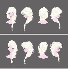 Frozen concept art | Illustrator: Brittney Lee I kinda like the top one more