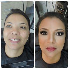 Antes e depois para a querida Edilma Barcelos por Del Alvares.