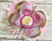 Princess Aurora Hair Bow, Jasmine, Disney Inspired, Newborn Headband, Infant Headband, Baby Headband, Sleeping Beauty Bow, Birthday Bows by PheePheeBowtique on Etsy, $9.25 USD