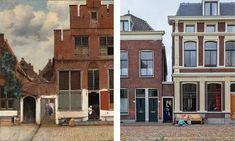 Vermeer, The little street, Rijksmuseum, Amsterdam