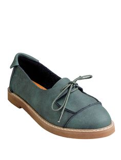 SHARE & Get it FREE | Preppy Lace-Up Flat Shoes - GreenFor Fashion Lovers only:80,000+ Items • New Arrivals Daily Join Zaful: Get YOUR $50 NOW!