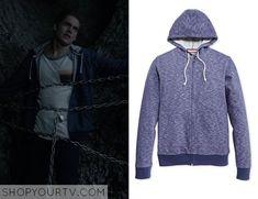 Teen Wolf: Season 5 episode 1 Liam's blue marled hoodie