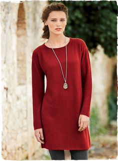 The Birkin Tunic is textured in a diagonal waffle stitch and styled with drop shoulders and an easy fit. Knit of light and lofty woolen-spun royal alpaca, it's terrific over leggings or skinny jeans.