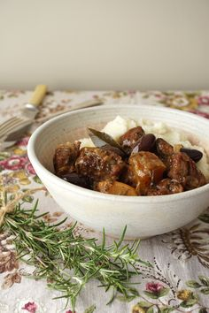Lamb Stew with Black Olives and Rosemary   Healing Family Eats