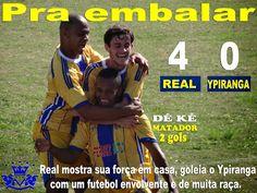 lokos real: REAL VALE DO SOL 4X0 YPIRANGA