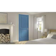 Jeld-Wen Blue Heron Prehung Hollow Core 2-Panel Square Interior Door (
