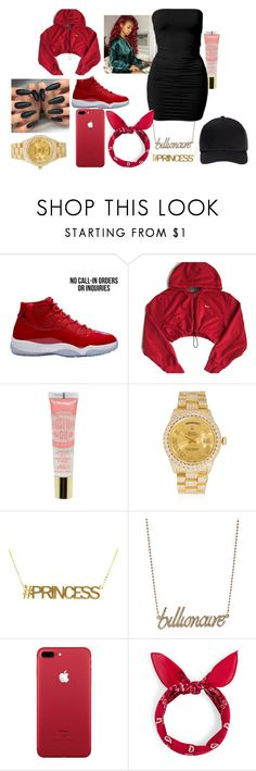 """Bloody Barzzzz"" by charltontk on Polyvore featuring NIKE, Rolex, Anna Lou and Miss Selfridge"