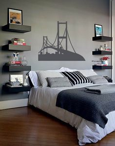 New bedroom black headboard grey Ideas Trendy Bedroom, Modern Bedroom, Home Bedroom, Bedroom Decor, Bedroom Ideas, Bedrooms, Black Headboard, Bedroom Black, New Room